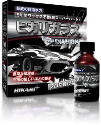 Автополироль защитная для кузова Hikari Diamond