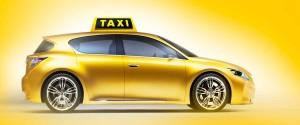 оклейка такси желтой пленкой