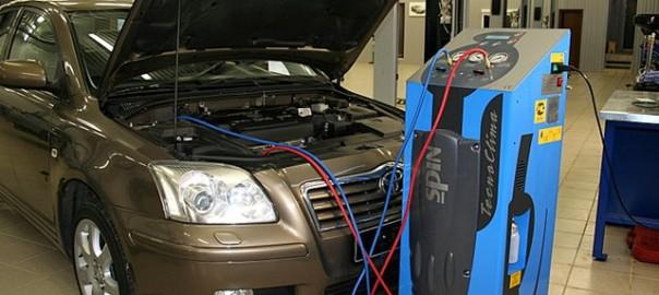 Чистка кондиционера автомобиля
