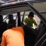 ПОдготовка салона автомобиля к химчистке
